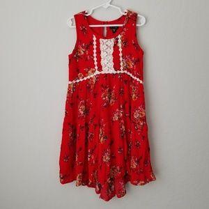 NWT Zunie Sleeveless Dress 6X (Big Girls)